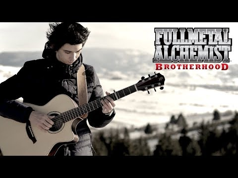 FullMetal Alchemist: Brotherhood OP 5 - Rain By Sid (Fingerstyle Guitar Cover By Albert Gyorfi)