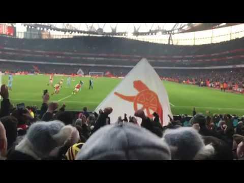 Alexis Sanchez gol Panenka Arsenal 2017(penal)