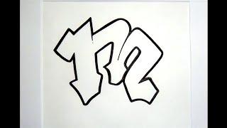 Alphabet Graffiti N2 SEMI BLOCK Letters HD