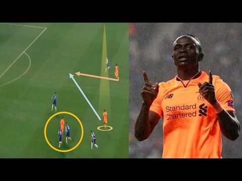Sadio Mane VS Porto /5-0/ Player Analysis