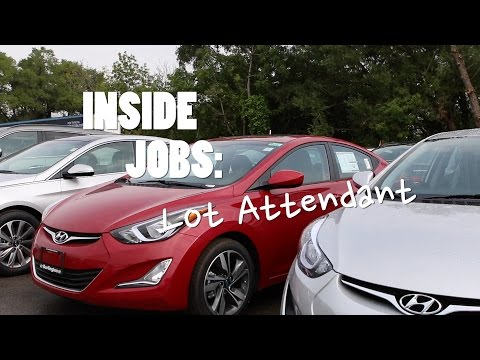 Inside Jobs: Lot Attendant | Driving.ca