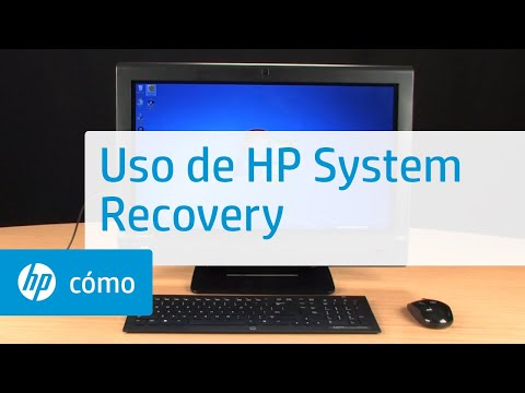 Uso de HP System Recovery | HP Computers | HP