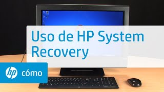 Uso de HP System Recovery