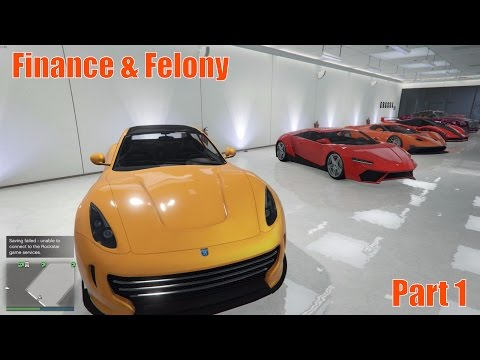 GTA V Finance & Felony - New Vehicles & Offices!