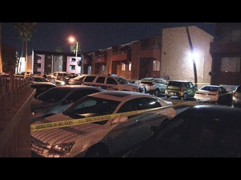 VIDEO: Suspect arrested after stabbing brother, roomate at Phoenix apartment complex