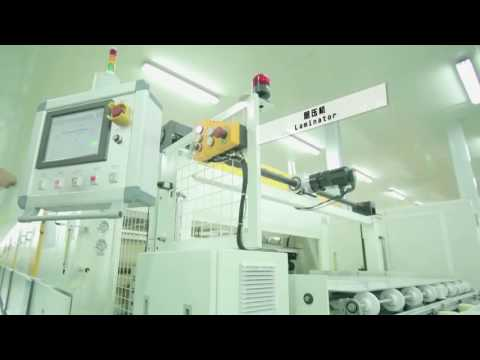 JINCHEN MACHINERY PV module production line Solar Panel Üretimi