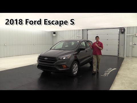 2018 FORD ESCAPE S REVIEW STANDARD & OPTIONAL EQUIPMENT