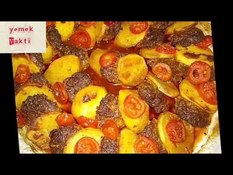 Fırında köfte patates tarifi    #YEMEKVAKTİ#