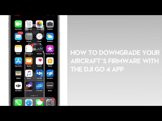 How to downgrade your drone's firmware with DJI Go 4 app - DroneDJ