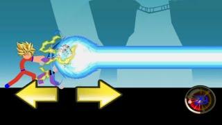 Stickman GOKU in Saiyan 2!? | God of Stickman 3