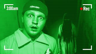 Exploring A REAL Haunted House At MIDNIGHT!