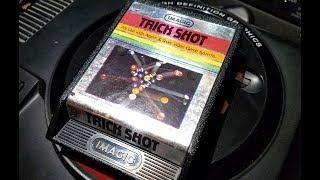 Classic Game Room - TRICK SHOT review for Atari 2600