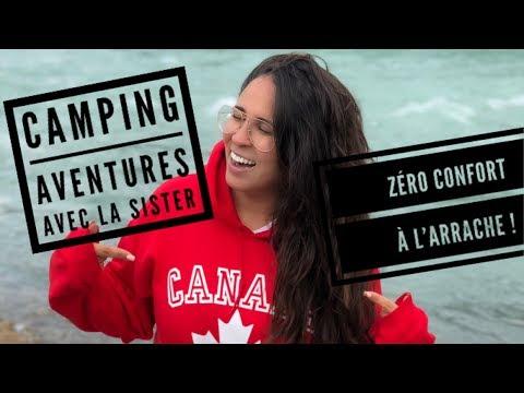 Vlog #9 | CAMPING SAUVAGE AU CANADA AVEC MA SOEUR ET NOS MARIS !