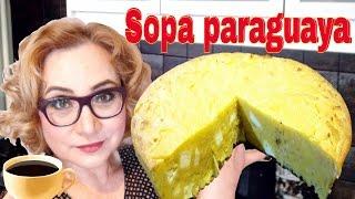 Пью кофе с парагвайским супом) Кухонный влог.