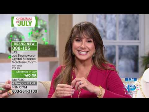 HSN | Christmas in July featuring JAY by Jay Strongwater Holiday Gifts 07.18.2017 - 10 AM