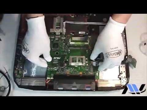 Техническое обслуживание / Maintenance # 00004 – ASUS G750JX ROG