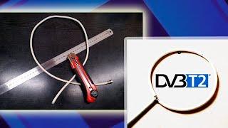 Антенна из кабеля для цифрового ТВ за 5 минут / Антенна DVB T2