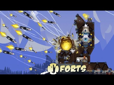 MASSIVE ATTACK! Under Fire (Forts Gameplay Ep 1 - Forts Beta)