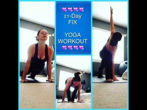 21day fix  yoga workout  youtube