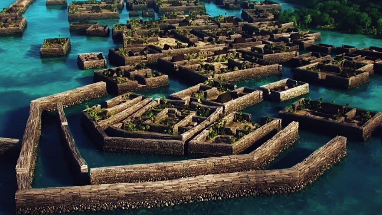 Нан Мадол - таинственная тихоокеанская Венеция.