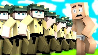 100 POLIZISTEN vs MOOO in MINECRAFT
