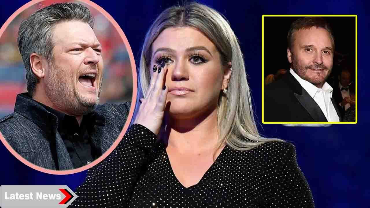 Kelly Clarkson burst into tears as Blake Shelton scolded 'stupid' for acting with ex-fathe