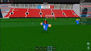 When by playing roblox you already think you are Messi