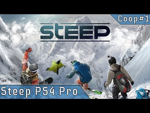 Steep Co-op 1080p 60fps  - PS4 Pro Gameplay Live