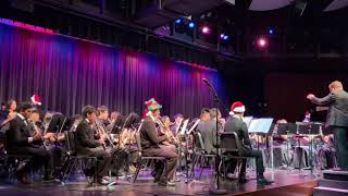 California High School wind ensemble Winter Concert 2018 - Overture to a Christmas Miracle