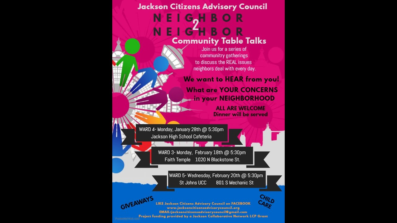 Jackson Citizens Advisory Council (March 7 2019)