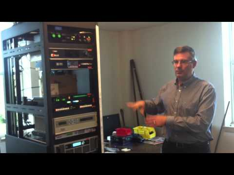 Tour of NHPR's upgraded WEVH Hanover transmitter