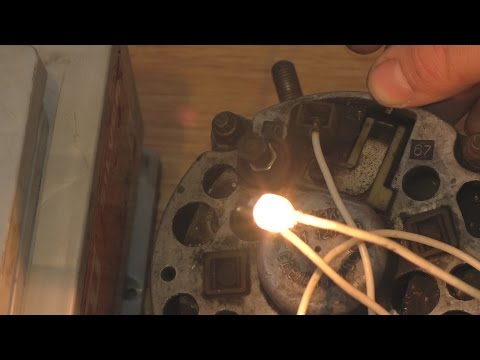 Как проверить генератор в домашних условиях ваз 2106