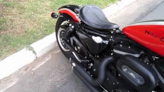 Brigitte Harley-davidson Sportster Rsd Wide Glide Solo Spring Seat