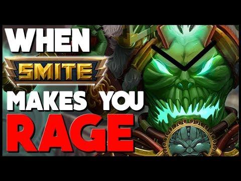 5 Ways SMITE Makes You RAGE!