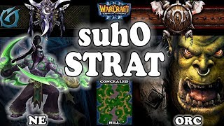 Grubby | Warcraft 3 TFT | 1.30 | NE v ORC on Concealed Hill - Suho Strat
