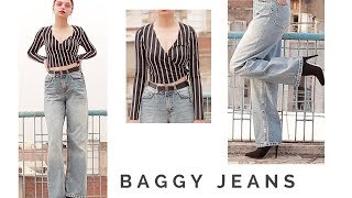 Baggy Jeans | What to wear | Episode 1| Styling Wide leg Jeans | Tejaswi