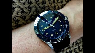 "Mercer ""Voyager II"" A Great Vintage Inspired Dive Watch"