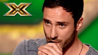Sensual rendition Josh Groban song «You Raise Me Up». The X Factor - TOP 100