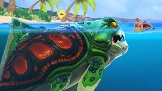 NEW SKIN - BIG DADDY (DUNKLEOSTEUS) || Hungry Shark Evolution [FHD-1080p]