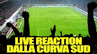 Inter - milan: 3-2 // live reaction dalla curva sud // daniele brogna