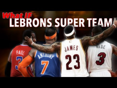 WHAT IF LeBron's Super team happened in the 2016-2017 Season? 2K16