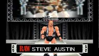 Wrestlemania 2000 N64 The Rock Vs Stonecold Steve Austin