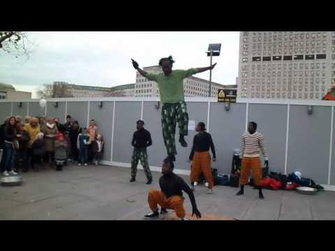 African Acrobats in London December 2011