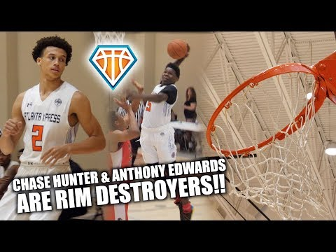 Anthony Edwards & Chase Hunter ARE RIM DESTROYERS!! *NOT CLICKBAIT* 😂  Xpress vs MATTS Highlights