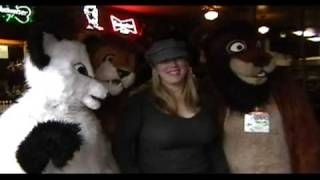 Public mall fursuit outing in downtown Bothell Part 2 of 2