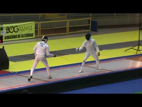 Bogota Grand Prix 2009 - TEAMS  FINAL FRANCE vs ITALY 5/9  Robeiri vs Tagliarol