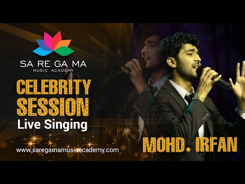 Mohd, Irfan Singing Dard -e Dil Ki Sifarish at SaReGaMa Music Academy