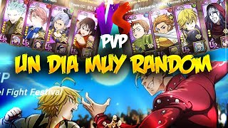 😱¡UN DIA MUY RANDOM en PVP!😱 Seven Deadly Sins: Grand Cross