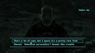 Fallout 3 Tip :: Getting a follower (Seargent RL- 3)