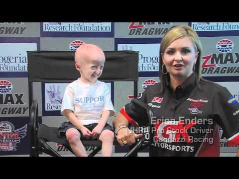 NHRA Champion Erica Enders Supports PRF!